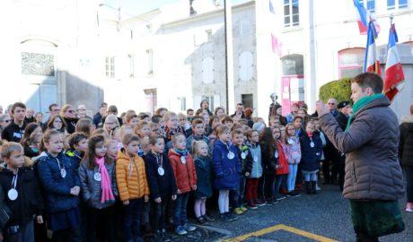 Vézelise a célébré le centenaire de l'Armistice du 11 Novembre 1918