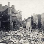 Immeuble de la brasserie suite au bombardement de Juin 1940