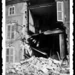 Immeuble de Vézelise détruit par les bombardements de Juin 1940