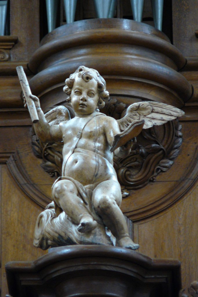 Angelo de l'Orgue de Vézelise