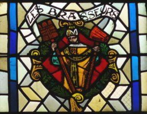 Blason des Brasseurs - Vitraux de l'église de Vézelise