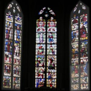 Vitraux du chœur de l'église de Vézelise